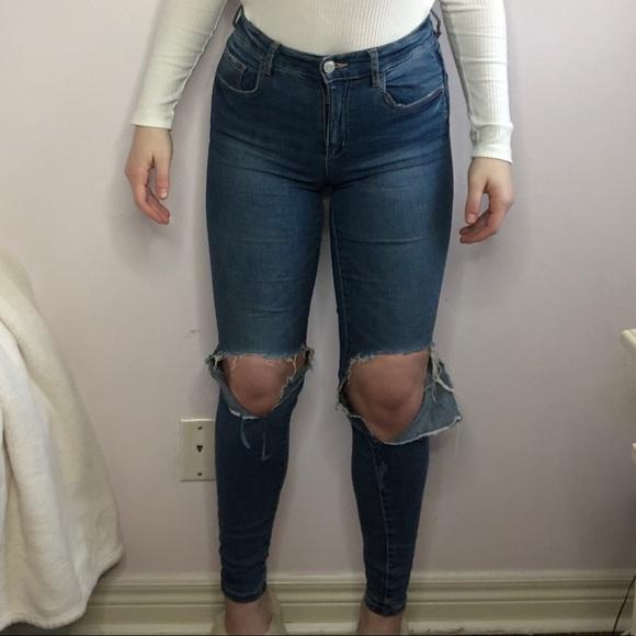 Garage Retro High Waist Skinny Jeans